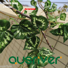 New 260cm Long Green Leaf Ivy Vine Artificial Garland Plant Home Outdoor Decor