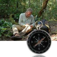 Keyring Mini Compass Outdoor Camping Hiker Navigator Keychain m Kits Surviv G3V9