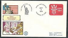 1979 VATICANO VIAGGI DEL PAPA USA NEW YORK FLUSHING - EV