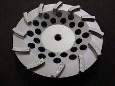"SASE 7"" Turbo Diamond Cup Grinding Wheel Surface prep mastic removal glue Thread"