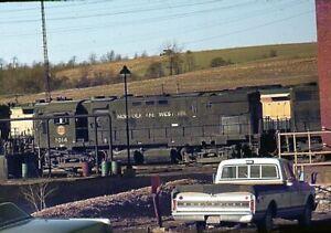 N&W norfolk & western 1014 rutherford,pa orig. slide