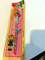Cabbage Patch Kids Dolls Vintage 1990 Pencil & Topper SCHOOLGIRL WITH BOOK DV1