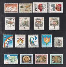 CYPRUS 1994 COMPLETE YEAR COMMEMORATIVE SETS Opt. SPECIMEN EUROPA MINERALS TREES