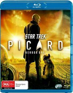 Star Trek - Picard - Season 1 (Blu-Ray 3-Disc Set) NEW