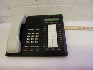 Comdial Impact Digital Business Telephone Black White. 8024S-GT