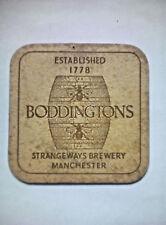 Vintage  BODDINGTONS BEER  - Cat No'02 Beermat / Coaster