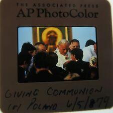 POPE JOHN PAUL II 1978-2005 Karol Józef Wojtyła Bishop of Kraków SAINT SLIDE 100