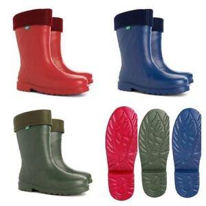 New Thermal -30 C Lightweight  EVA Wellies Wellingtons Rain Boots Luna Ladies