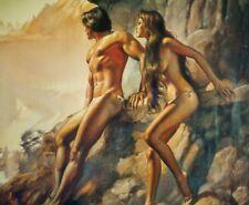 "1987 BORIS VALLEJO ""No Enviar"" Poster SCANDECOR 39"" x 27"" Printed In GERMANY"