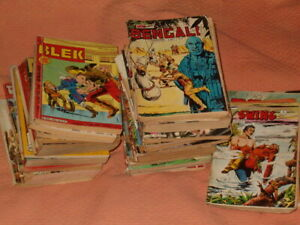 LOT 3,8 kilo ALBUM BD 1961 1993 MON JOURNAL IMPERIA BLEK BRIK etc ancienne revue