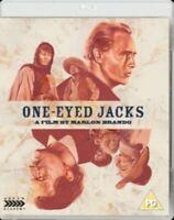 ONE EYED JACKS Movie Blu Ray - Marlon Brando - NEW - Remaster Stunning Film RARE