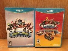 Skylanders Swap Force & Super Chargers Nintendo Wii U Disc Case Only