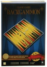 NEW Classic Wooden Backgammon from Mr Toys