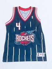 Charles Barkley Authentic Starter Jersey 46 Houston Rockets NBA Sewn Vintage