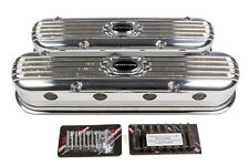 Valve Cover LS3 Modular Ribbed Profile Polished BILLET SPECIALTIES P95470
