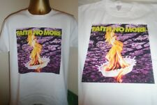 FAITH NO MORE- THE REAL THING- ALBUM ART PRINT T SHIRT- WHITE- MEDIUM