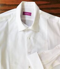 Mens Marcella dress shirt size 17 Moss Bros evening formal VGC
