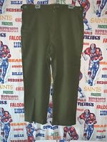 US Army Military Field Trousers M-1951 Wool Cold Weather Green Large 35-39x29-32