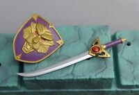 Masters Of The Universe Classics Chief Carnivus Sword & Shield Weapons Lot MOTUC