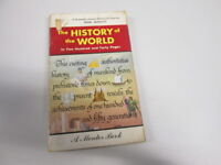 Acceptable - The History of the World in Two Hundred & Forty Pages - A Mentor Bo