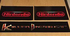 Killer Instinct 2 Arcade Control Panel Box Art Artwork KI2 CPO Midway Nintendo