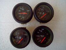 "2"" /52mm Electrical Temp Oil Pressure Fuel Amp Gauge- Black"