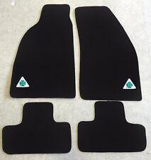 Autoteppich Fußmatten für Alfa Romeo GTV Quadrifoglio Stick Nubukband Velours