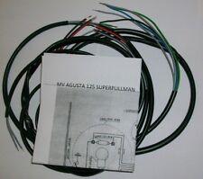 Elektrische Anlage Elektrische Wiring Motorrad Mv Agusta 125 Superpullman