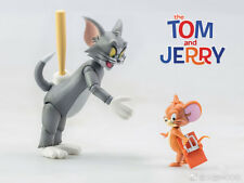 In Stock Dasin Cat & Mouse Cartoon Tom and Jerry Action Plastic Model Figure