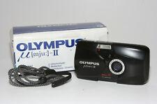 "Olympus Mju II Point & Shoot Kamera  2,8/35mm Olympus Lens ""mit Film getestet"""