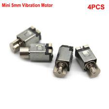 4pcs Mini Micro 5mm Coreless vibration Motor DC 1.5V Square Vibrator Phone Toy
