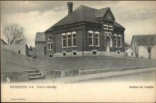 Meredith NH Library c1905 TUCK Postcard #2097