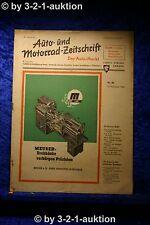Auto und Motorrad Zeitschrift Nr. 46/50  16.11.1950 Der Auto Markt