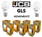 JCB LED GLS Bulbs 6w = 40w 10W = 60W 15w = 100 WATT BC B22 ES E27 3000k/6500k