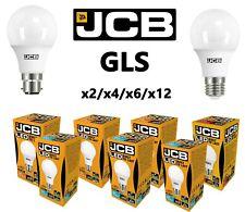 JCB LED GLS Ampoules 6w=40w 10W=60W 15w = 100 Watts BC B22 Es E27 3000k/6500k