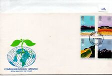 GB - FDC - TOWN CANCEL -086- UNADDRESSED -1983- Commonwealth Day - Pmk Kirkcaldy