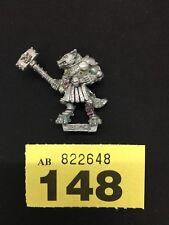 Caos de Warhammer de edad de Sigmar Beastman marca de Khorne Khorngor beastmen Metal