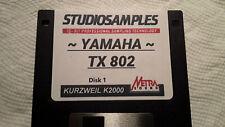 Kurzweil ~ YAMAHA TX802 Programs v1 FOR K2XXX ~ w/V.A.S.T. Programmings!