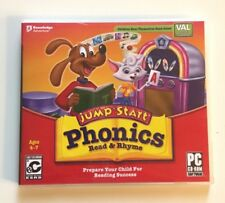 JumpStart Phonics Read and Rhyme Pc CD-ROM for ages 4-7 with VAL