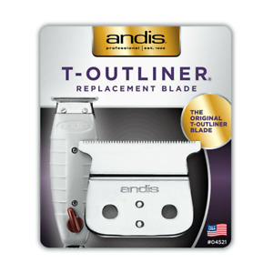 Andis 04521  T-Outliner Trimme Replacement T-Blade - Carbon Steel