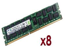 8x 8GB 64GB RDIMM ECC REG DDR3 1333 MHz Speicher f Supermicro X9SRH-7F X9SRH-7TF