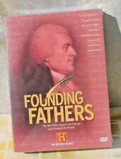 Founding Fathers History Channel, 2 DVD Set Factory Sealed / New in Plastic