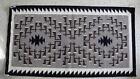 "Very Nice Navajo Two Grey Hills Blanket, 39"" x 71"", Ca 1970"