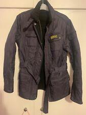 Womens Purple Barbour Polarquilt Jacket Coat