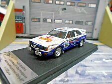 AUDI Quattro Rallye Nat. Breakdown 1987 #10 Bosch Hot Wheels Trofeu Scala 1:43
