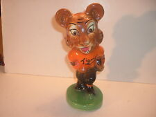 1940 Massillon Ohio Tigers Mascot Stanford Pottery Bank