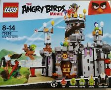 75826 LEGO King Pig's Castle from The Angry Birds Movie. NEW, BUT SLIGHT WEAR.