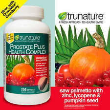trunature Prostate Health Complex, 250 Softgels New...Sealed!!