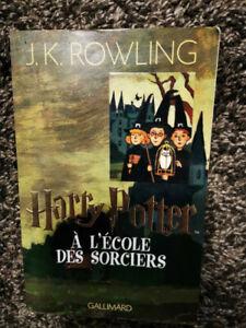 Harry Potter Tome 1 - Harry Potter À L'école Des Sorciers - Rowling J.K.
