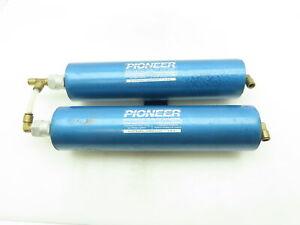 "Pioneer Compressed Air Heatless Desiccant Dryer Aluminum Dual Filter 3/8"" Tube"